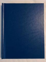 Wandelboekje 164 blz. - blauwe kaft