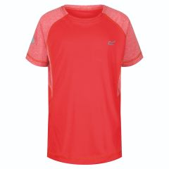 T-shirt Dazzler reflective Kids Coral